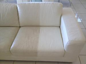 ... Leather Couch Cleaning Service